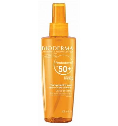 Bioderma PHOTODERM Bronz suchý olej SPF 50+ 200ml