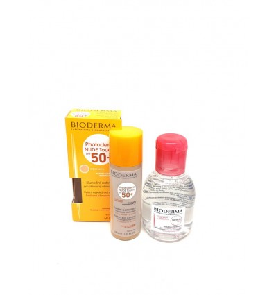 PHOTODERM NUDE TOUCH 40ml + SENSIBIO H2O 100ml