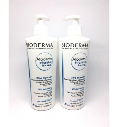Akciový balíček 1+1 Bioderma ATODERM Intensive Baume 500ml + ATODERM Intensive Baume 500ml