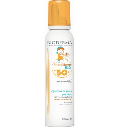 Bioderma PHOTODERM KID mousse SPF50+ opaľovacia pena 150 ml